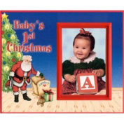 Baby's 1st Christmas Picture Frame Gift