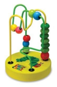 Eric Carle The Very Hungry Caterpillar Mini Wood Bead Rollercoaster Toy