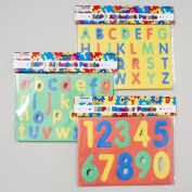 Alphabet & Numbers Foam Puzzle