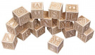 Natural ABC Blocks