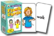 CARSON DELLOSA CD-3927 FLASH CARDS SIGN LANGUAGE