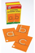 Didax Dd-210829 Tactile Sandpaper Lowercase Letters