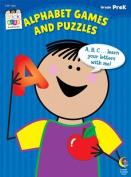 Alphabet Games & Puzzles Stick Kids Workbook