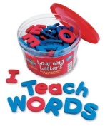 Learning Resources Soft Foam Magnetic Letters