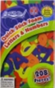 ArtSkills A2Z Foam Letters and Numbers, 228 Pieces, 150 Sparkly Stickers