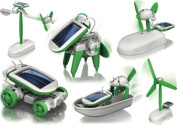 6-in-1 Educational Solar Kit Build Your Own Science Toy DIY