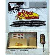 "Tech Deck World Industries Quarter Pipe 45mm (Mini) with ""World"" Skateboard"