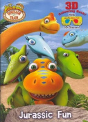 Jurassic Fun 3D Colouring Book