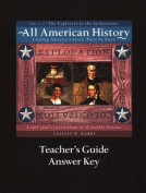All American History Teacher's Guide and Answer Key Vol 1