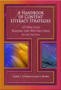 A Handbook of Content Literacy Strategies