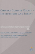 Chinese Climate Policy