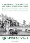 Internationale Grundsatze Und Richtlinien Der Denkmalpflege
