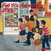 2013 Fab 60's Advertising Grid Calendar