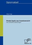 Private Equity Aus Investorensicht