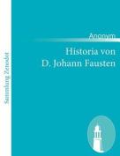 Historia Von D. Johann Fausten [GER]