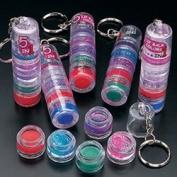 Mini Body Glitter - Lip Gloss Keychains