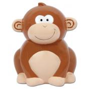 Monkey Baby Piggy Bank - 9.5cm