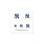 New York Yankees Official MLB 2.5cm x 2.5cm Fingernail Tattoo Set by Wincraft