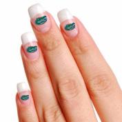 Florida Gators Official NCAA Varying Fingernail Tattoo Set Fla Wincraft 795045
