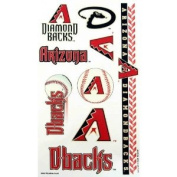 Arizona Diamondbacks Official MLB 10cm x 18cm Temporary Tattoos by Wincraft