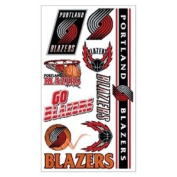 Portland Trail Blazers Official NBA 10cm x 18cm Temporary Tattoos by Wincraft