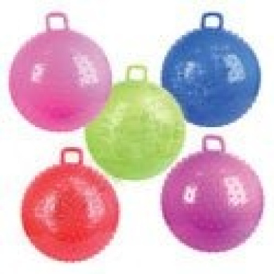 90cm Knobby Bouncy Ball with Handle, Bounce and Sport Ball ...