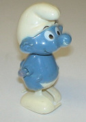 Vintage Smurf Wind up the Smurfs Toy