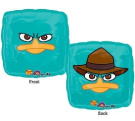 Perry the Platypus 46cm Square Shape Balloon From Phineas & Ferb