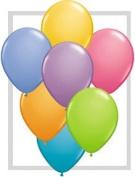 Mayflower 7331 13cm Lime Green Latex Balloon Pack Of 100