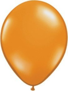 Mayflower 6619 28cm Mandarin Orange Latex Balloons Pack Of 100