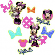 Minnie Mouse Party Supplies Table Confetti 3/120ml Bag - 1 Each