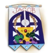 First Communion Banner Kit - Boy Colours