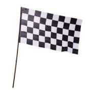 30cm x 46cm Rayon Racing Flag