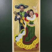 3' FT X 6' FT Fiesta Couple Photo Door Banner