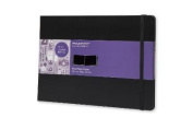 Moleskine Art Plus Black Page Album, A4, Black, Hard Cover