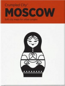 Moscow (Crumpled City Map)