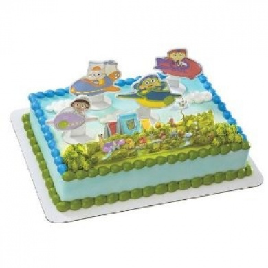 Super Why! Super Readers Cake Topper