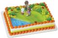Dora The Explorer And Friends Rosie Posie Cake Topper Set