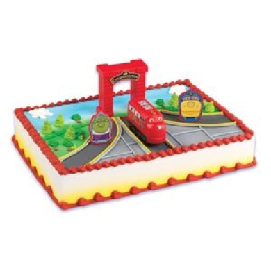 Cake Decorating Stuff Nz : Chuggington Birthday Cake Topper Kit by Cake Decorating ...