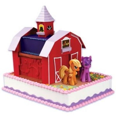 Cake Decorating Toy Kits : My Little Pony Birthday Cake Decorating Kit by Cake Decorating - Shop Online for Toys in Australia