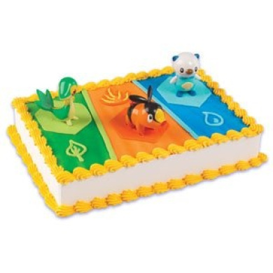 Pokemon Birthday Cake Topper Decorating Kit by Cake ...