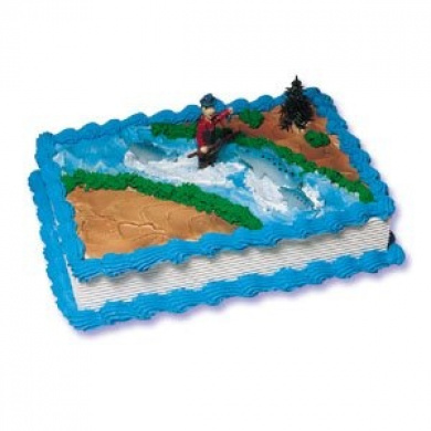 Rapunzel Cake Decorating Kit : Tangled Fisherman Cake Topper Kit by Cake Decorating ...