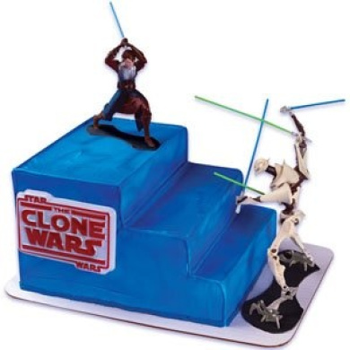 Cake Decorating Stuff Nz : Star Wars - Clone Wars Cake Decorating Kit by Cake ...