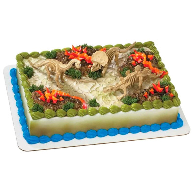 Dinosaur Skeleton Cake Topper by Decopac - Shop Online for ...