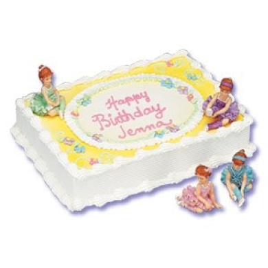Ballet Cake Decorating Kit - 2 Ballerina Figures