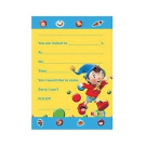 Noddy Invitations - 20 Here comes noddy party invites