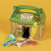 12 Tiki Hut Surf Shack Beach Monkey Treat Boxes