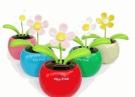 Flip Flop Solar Power Flower Swing Flower Car Interior Decor -12 for $36, $3 Each - Party Favour Ideas
