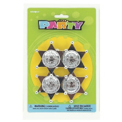 4 Pack of Sheriff's Badges for party loot pinata bag filler