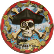 18cm Luncheon Plates - 8PK/Pirates Bounty
